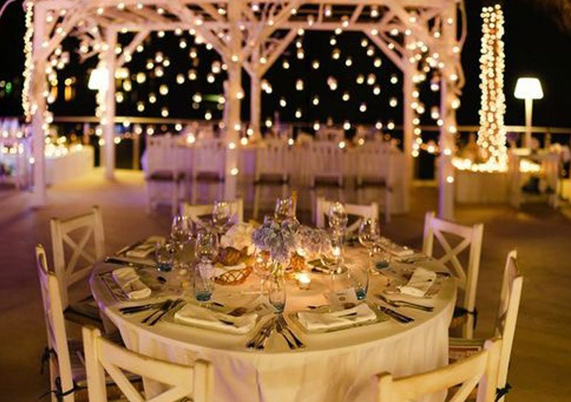 lights for weddings, algarve, portugal
